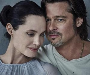Brad Pitt и Angelina Jolie для журнала Vanity Fair Italy