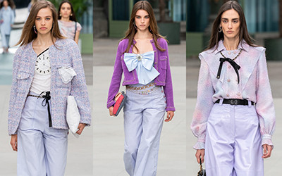 Женская одежда Chanel Resort 2020