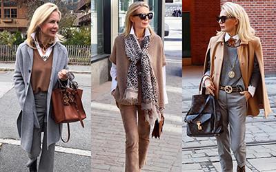 Мода для женщин за 50 от прекрасной немки Bibi Horst