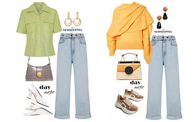 6 образов на осень с джинсами Brunello Cucinelli в модных сетах