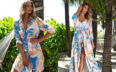 Модные пляжные платья и летние туники Melissa Odabash 2021