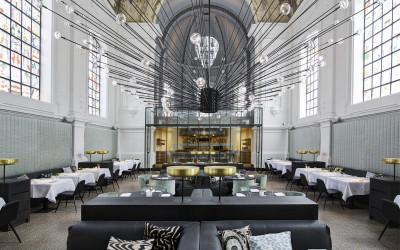 Потрясающий ресторан The Jane в Бельгии