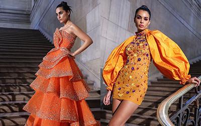 Вечерние платья Rami Kadi Haute Couture осень-зима 2019-2020