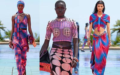 Женская одежда Paco Rabanne весна-лето 2022