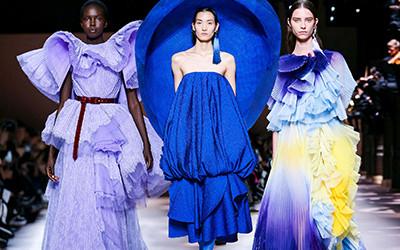 Вечерние платья и костюмы Givenchy Haute Couture весна-лето 2020