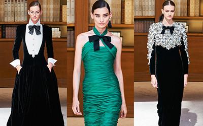 Вечерние платья и костюмы Chanel Haute Couture осень-зима 2019-2020