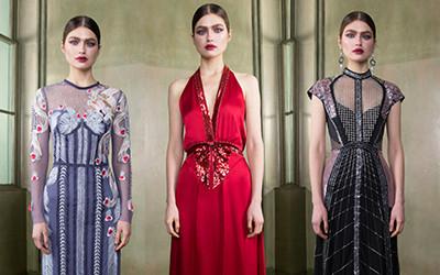 Вечерние платья и костюмы Temperley London осень-зима 2019-2020