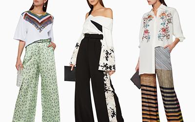 10 стильных образов в широких летних брюках