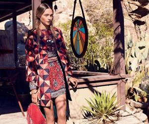 Sasha Pivovarova для журнала Vogue US
