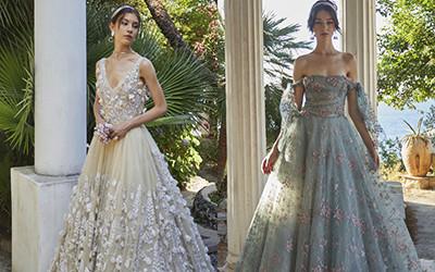 10 вечерних и свадебных платьев Luisa Beccaria Haute Couture 2021
