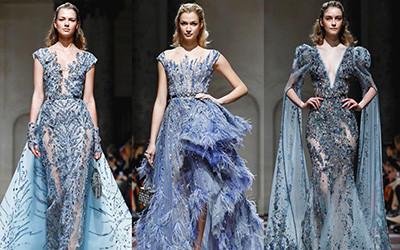 Вечерние платья Ziad Nakad Haute Couture весна-лето 2019