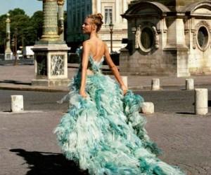 Magdalena Frackowiak для журнала Elle Italia