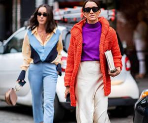Street style на неделе моды в Нью-Йорке весна-лето 2019