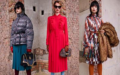 Женская одежда Mulberry осень-зима 2019-2020