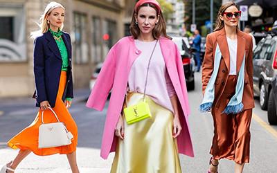 Шелковые юбки - модный тренд для романтиков