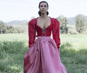 Kim Kardashian West на страницах CR Fashion Book