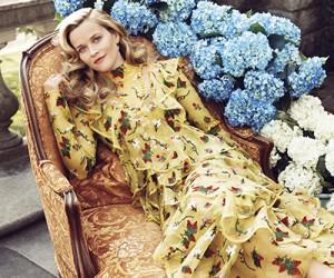 Reese Witherspoon для журнала Harper's Bazaar