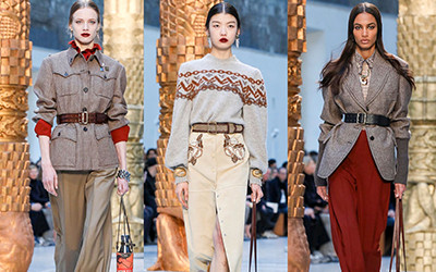 Женская одежда Chloé осень-зима 2020-2021