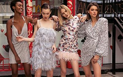 Нарядные вечерние платья для праздничных вечеринок от Bronx and Banco 2020