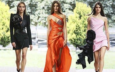 Вечерние платья и костюмы Redemption Couture осень-зима 2019-2020