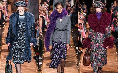 Женская одежда Michael Kors осень-зима 2019-2020