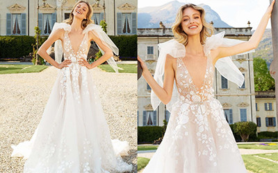 15 самых роскошных свадебных платьев Berta весна-лето 2022