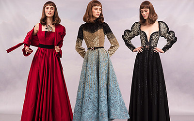 Красивые вечерние платья Hussein Bazaza в которые вы влюбитесь!