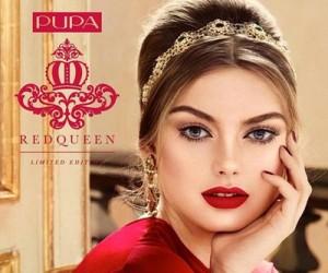 Рождественская коллекция макияжа Pupa Red Queen 2016-2017