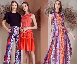 Женская одежда и вечерние платья Lela Rose Pre-Fall 2019