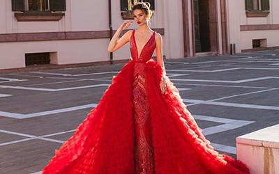 10 роскошных вечерних платьев Fjolla Nila