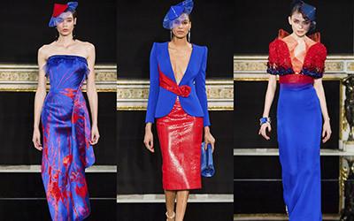 Вечерние платья и костюмы Armani Prive Haute Couture весна-лето 2019