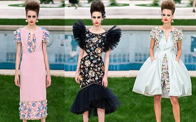 Вечерние платья и костюмы Chanel Haute Couture весна-лето 2019