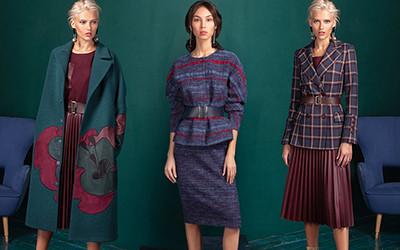 Женская одежда Alena Goretskaya осень-зима 2019-2020