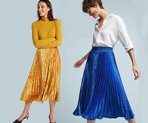 Плиссированная юбка. Выбираем из 10 вариантов.