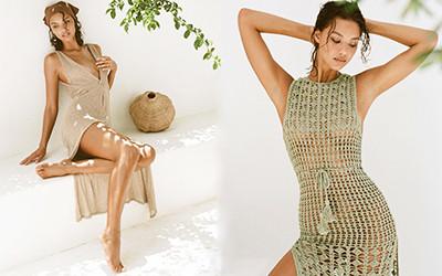 Пляжная женская одежда Flook The Label лето 2021