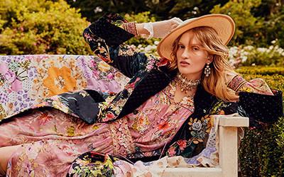 Пляжная женская одежда в богемном стиле из коллекции Camilla 2021