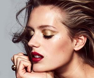 Зимний макияж в стиле glam