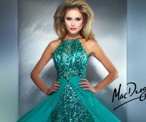 Вечерние платья Couture Mac Duggal весна-лето 2013