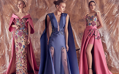 20 красивых вечерних платьев Gatti nolli by Marwan