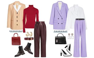 5 стильных образов на неделю в модных сетах