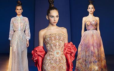 Вечерние платья Rami Kadi Haute Couture весна-лето 2020