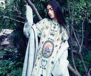 Cici Xiang для журнала Harper's Bazaar Vietnam
