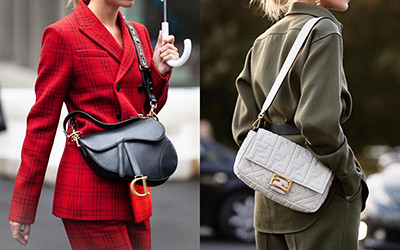 Детали street style: модные и необычные сумки гостей модных показов