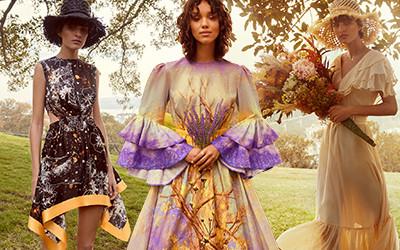 Красивые женственные платья Leo & Lin Resort 2021
