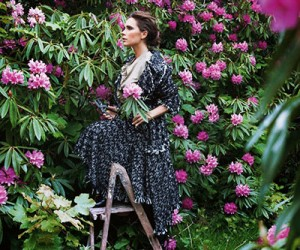 Victoria Beckham на страницах Vogue UK Август 2014