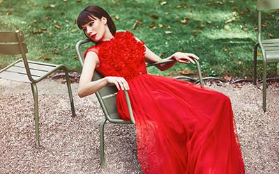 Вечерние платья Raquel Balencia весна-лето 2019