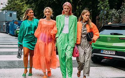 Street style на Неделе моды в Копенгагене весна-лето 2022