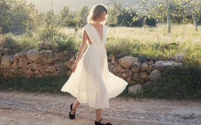 Весенние женственные платья Doen 2021