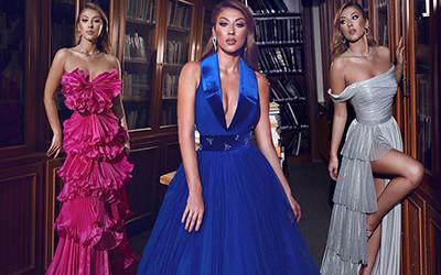 20 самых роскошных вечерних платьев Sadek Majed Haute Couture