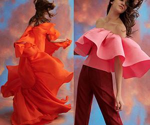 Женская одежда Carolina Herrera Pre-Fall 2019